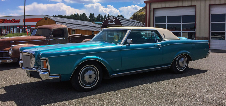 For Sale Used 1970 Lincoln Continental Mk III Stickshift Motors Cody, WY