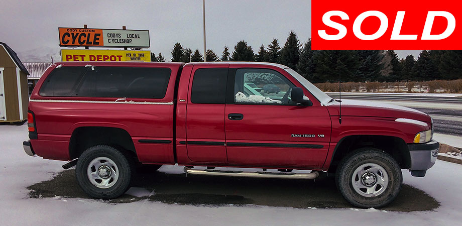 For Sale Used 1998 Dodge Ram 1500 4X4 Pickup