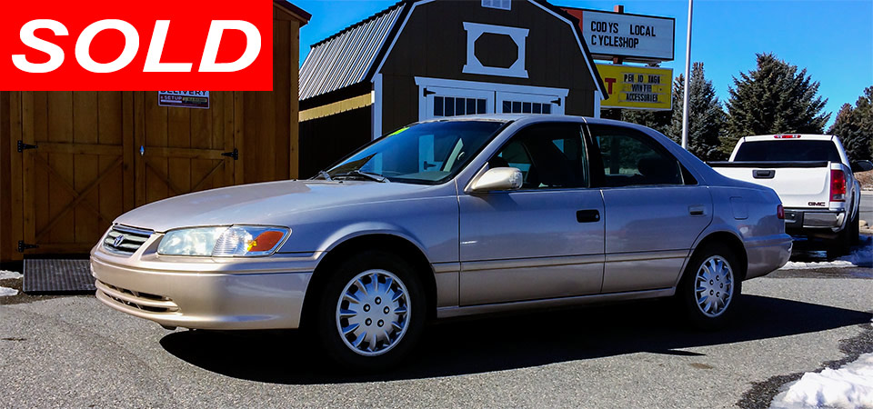 For Sale Used 2001 Toyota Camry Stickshift Motors Cody, WY
