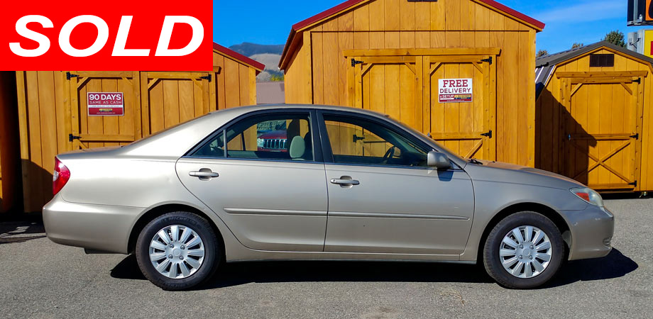 For Sale Used 2002 Toyota Camry Stick Shift Motors Cody, Wyoming