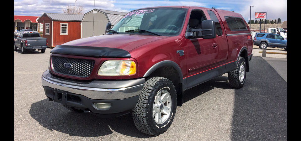 2003 Ford F150 4X4 Pickup For Sale Stickshift Motors Cody, WY