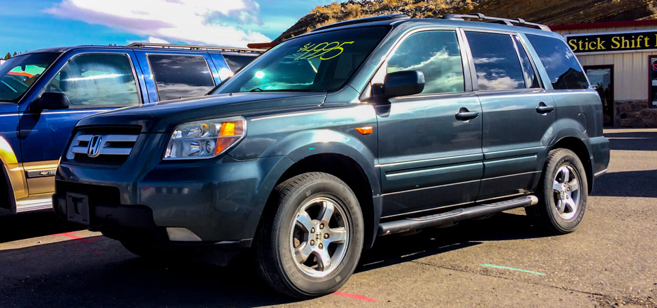 For Sale Used 2006 Honda Pilot All Wheel Drive Stickshift Motors Cody, WY