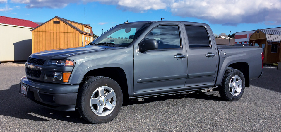 For Sale Used 2009 Chevrolet Colorado Pick-Up Stickshift Motors Cody, WY