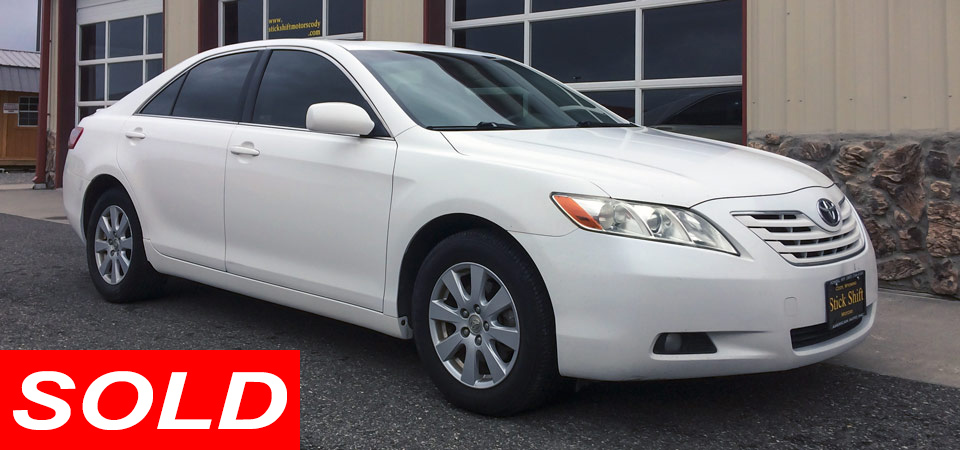 For Sale Used 2009 Toyota Camry XLE SE Stickshift Motors Cody, WY