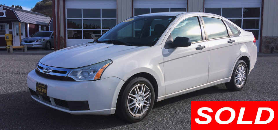Sold Used 2011 Ford Focus SE Stickshift Motors Cody, WY