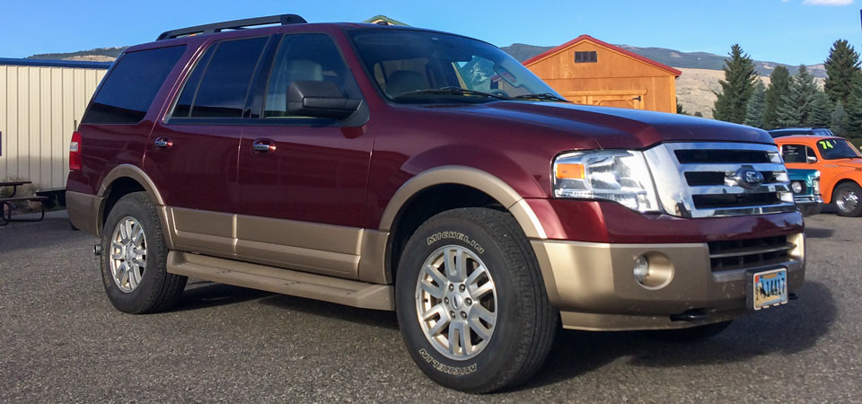 For Sale Used 2012 Ford Expedtion 4 X 4 Stickshift Motors Cody, WY